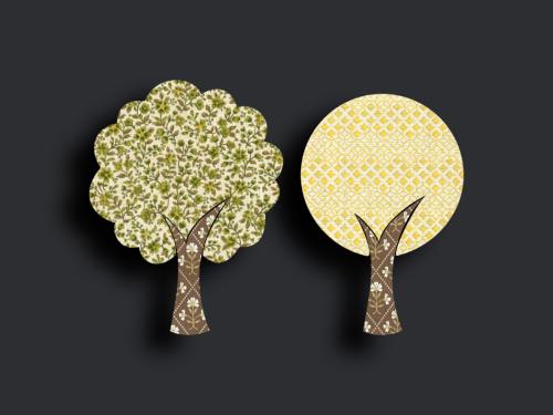 Tapetenbäume klein 1