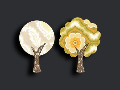 Tapetenbäume klein 6